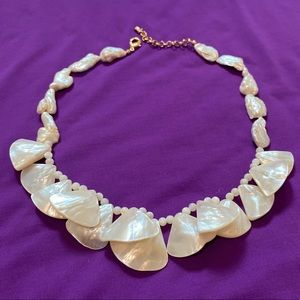 Jewelry - Real Mother of pearl necklace made in brazil